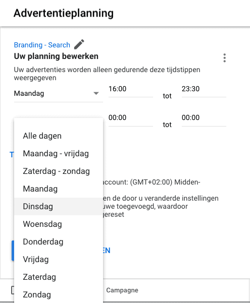 hoeveel kost google adwords advertentieplanning
