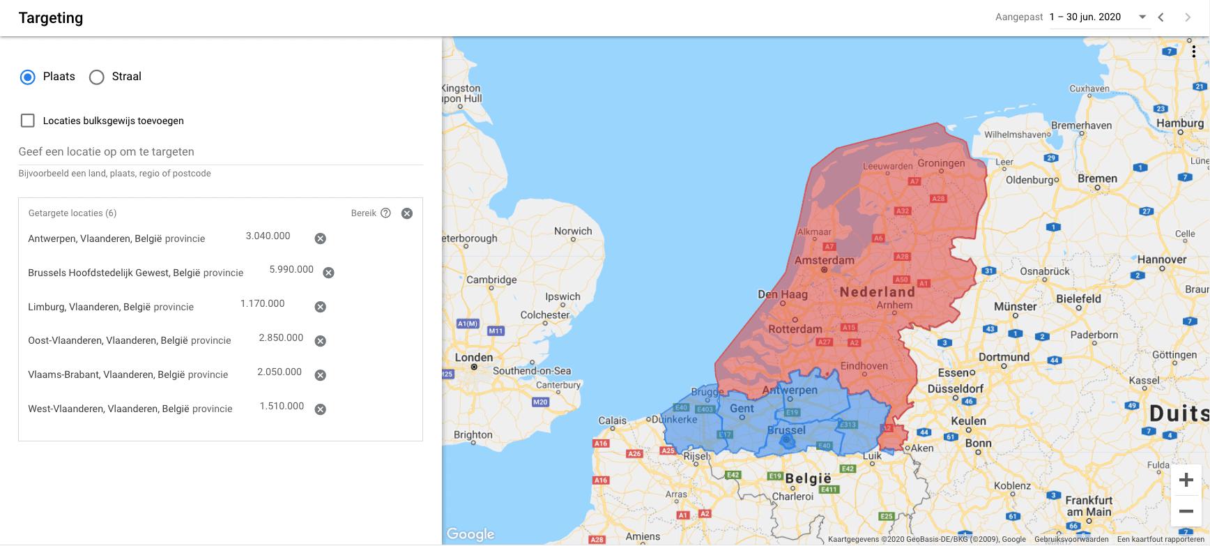 locatie-targeting-geotargeting-voor-correcte-weergave-google-advertenties